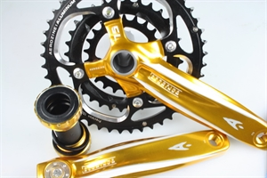 Picture of AEROZINE crankset (gold) 170mm Box