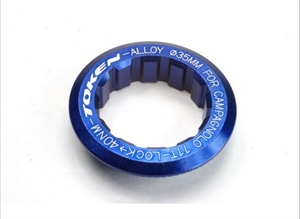 Picture of Token Lock Ring for Cassette Campy  BLUE
