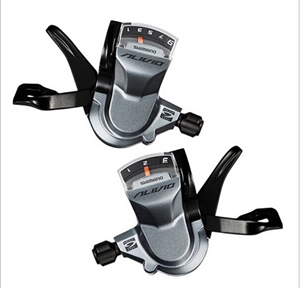 Picture of Alivio SL-M4000 3x9s 3x9 Speeds Shifter Levers for Shimano Alivio SL-M4000