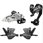 Picture of Altus M370 Groupset Group for Shimano Altus 3pcs Set