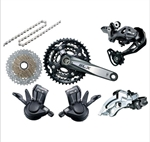 Picture of SLX M670 Groupset Group for Shimano SLX No Brake/Rotor/Hub