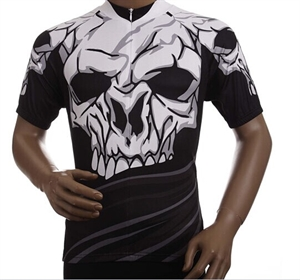 Picture of SENIOR 9 Bike Cycling Jersey Big Skeleton M-3XL J02E