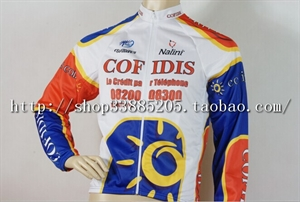 Picture of COFIDIS winter riding clothes set